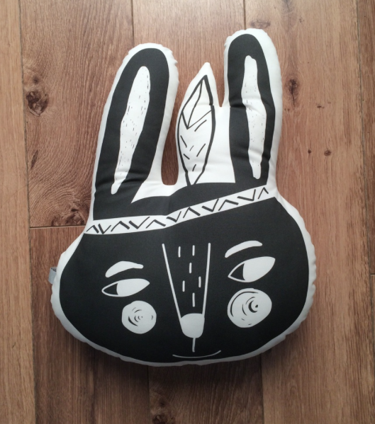 Wild Rabbit cushion