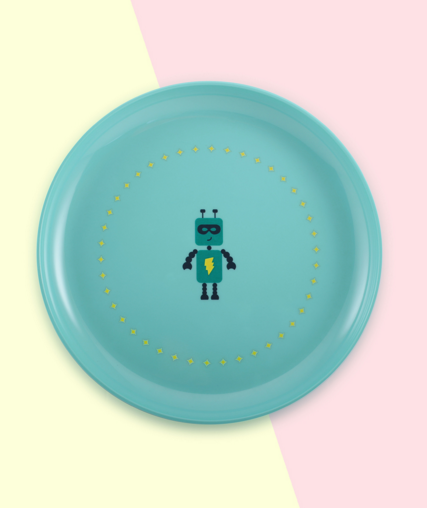 Online baby stores robot plate Super Petit
