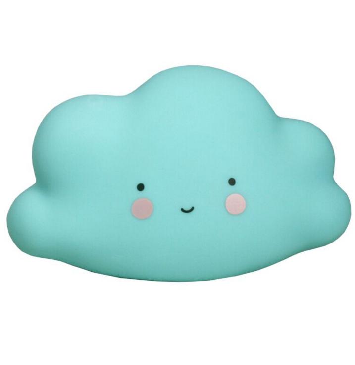 Night light for kids mini cloud blue A Little Lovely Company