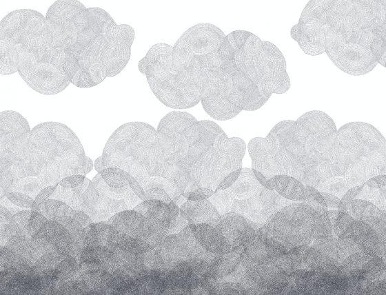 Kids wallpaper collection Cloudy Bien Fait Paris