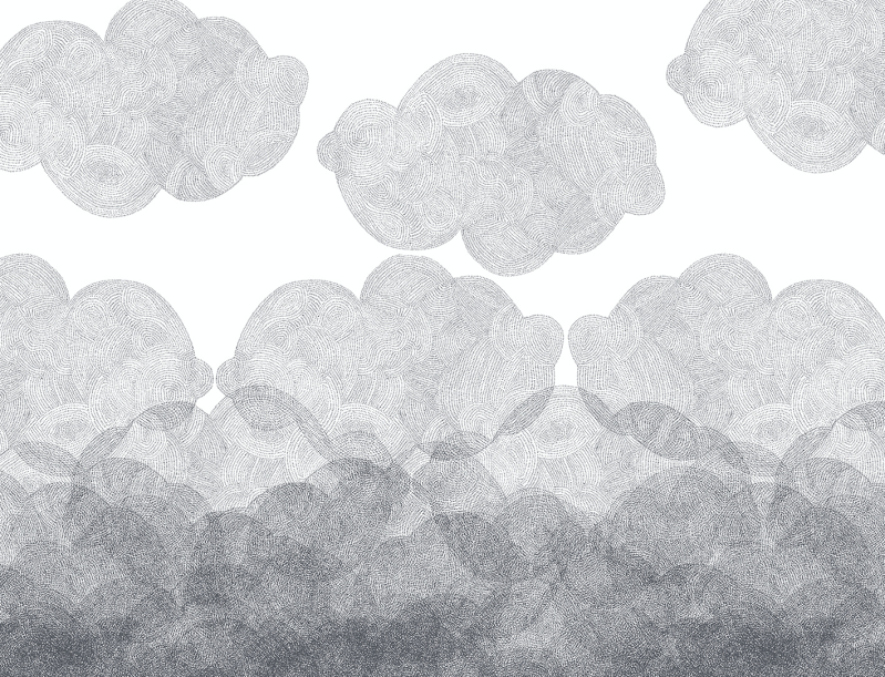 Kids wallpaper collection Cloudy Bien Fait Paris