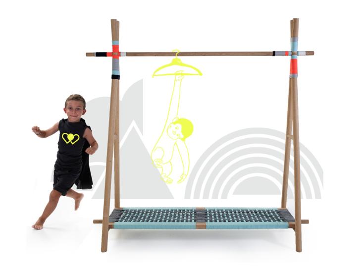Kids furniture online clothes hunger mint Fudje