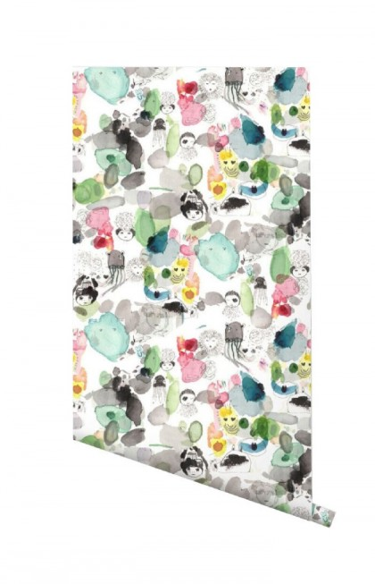 "Papel Pintado ""One fun day"" Pax&Hart"