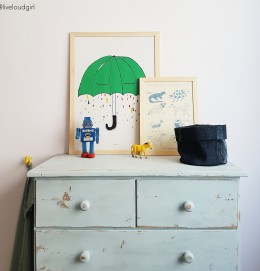 Live Loud Girl styling decoration for kids