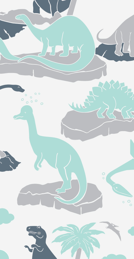Baby wall decor dinosaurs for baby bedroom Aimee Wilder wallpaper