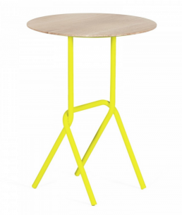 children bedroom furniture side table lemon yellow