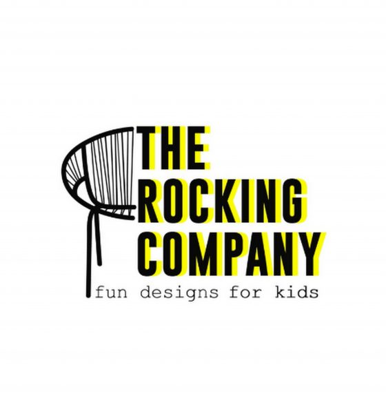 Sillas para niños color amarillo de The Rocking Company