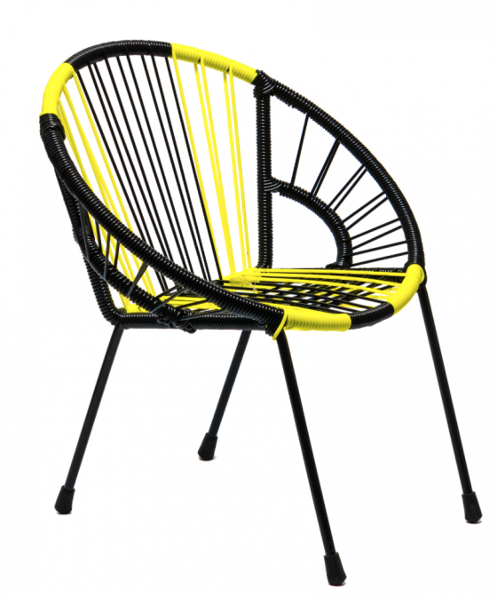 """Tica """"Neon Stripes"""" Chair fashionable furniture The Rocking Company"""