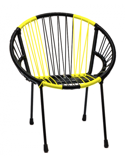 "Tica ""Neon Stripes"" Chair"