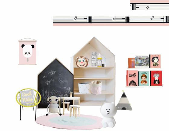 Proyectos de decoración integral para  niños de Peek&Pack