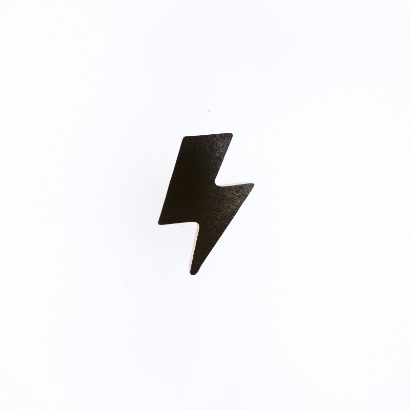 Desginer Kids furniture Lightning Bolt wall knob