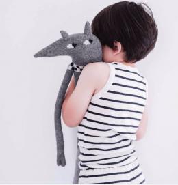 Toys for baby handmade Main Sauvage