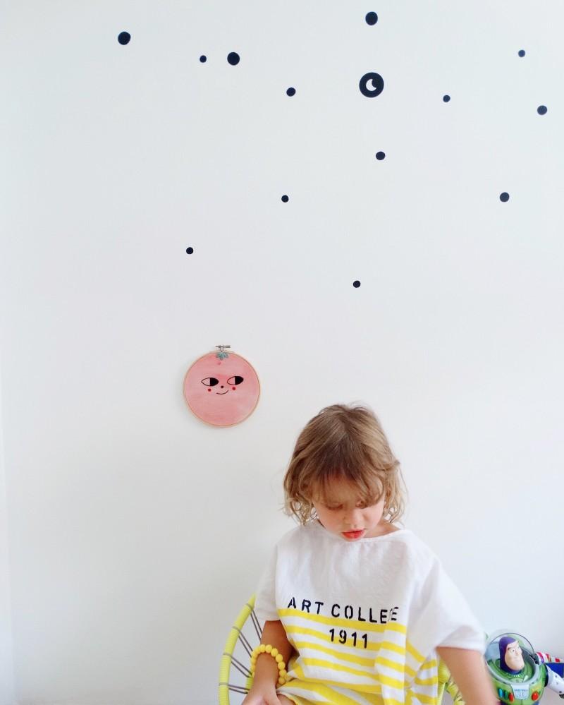Ideas decoración paredes habitaciones infantiles