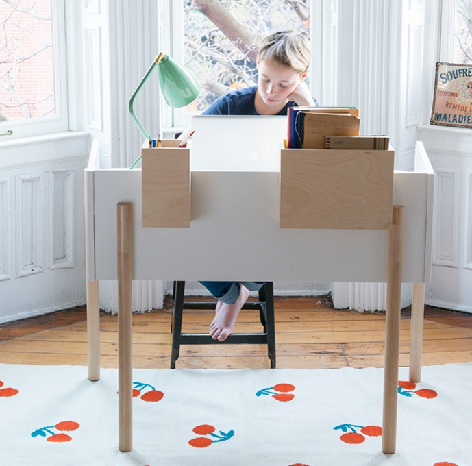 Kids furniture OEUF NYC decoration Brooklyn desk