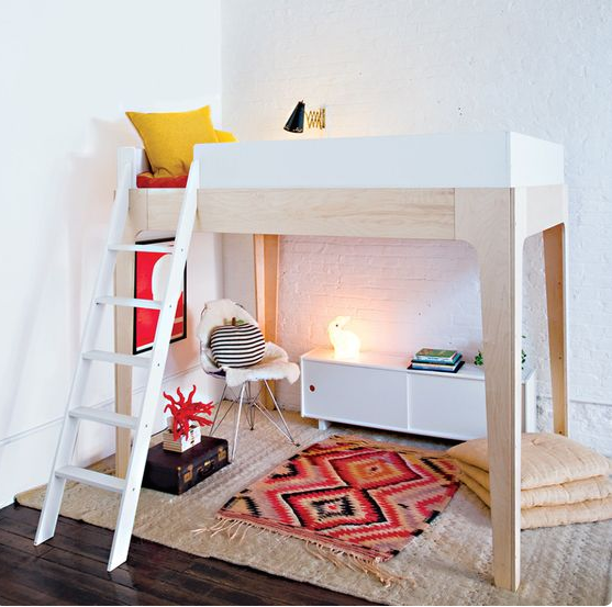 Oeuf Perch Bunk Bed: Fashionable Furniture Perch Bunk Bed OEUF For Kids Bedrooms