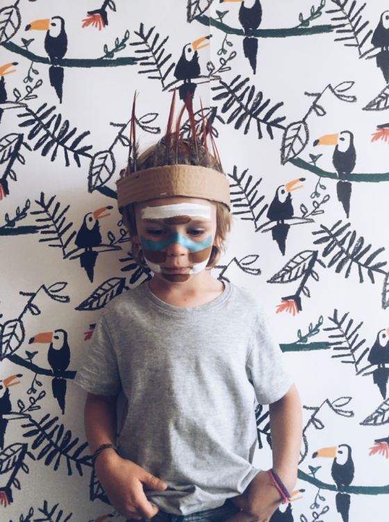 Colección papel pintado habitaciones infantiles Nofred Tucanes