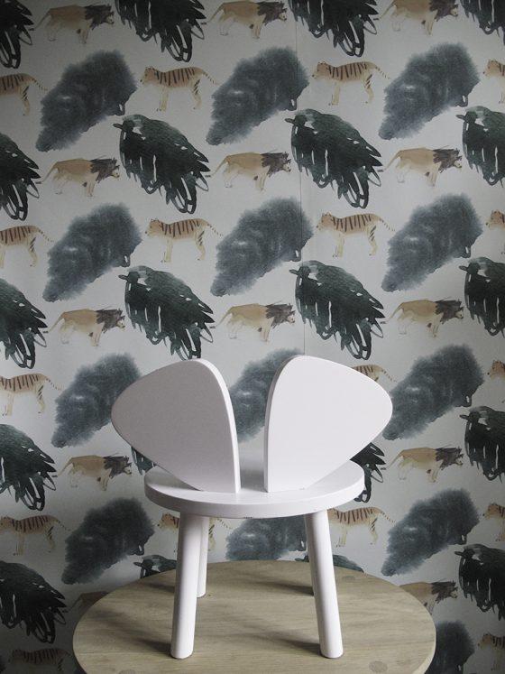Kids decor furniture Nofred wallpaper Safari