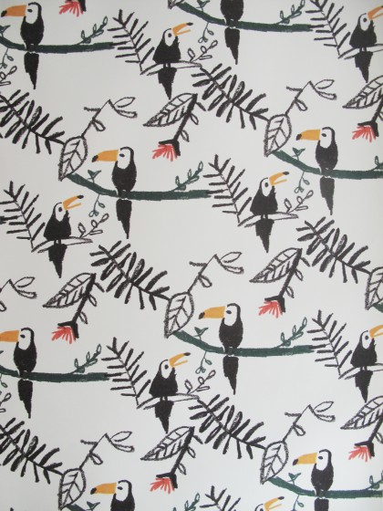 Wallpaper Toucans Nofred