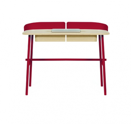 Desk Victor cherry Red by Hartô