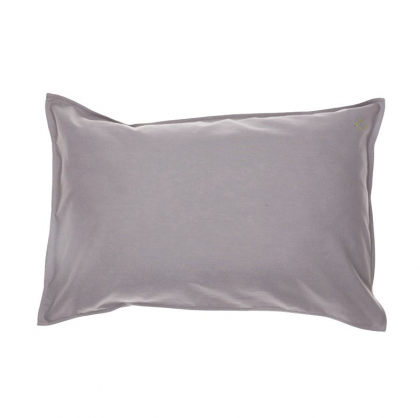 Baby Pillow Case warm grey 60×40