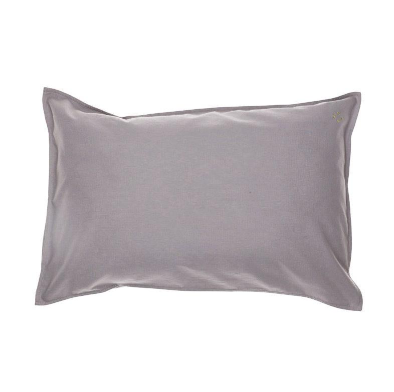 Baby Pillow Case warm grey 60×40