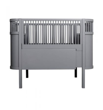 Sebra crib evolutif Dark Grey