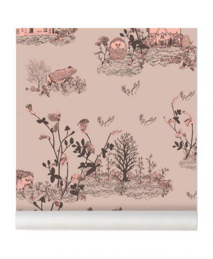 Papel Pintado Bosque rosa de Sian Zeng