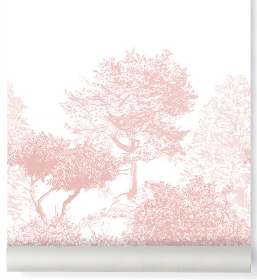 Hua Tree Wallpaper Pink