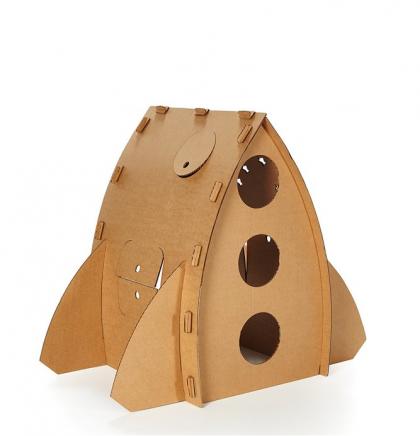 Cohete-Casa de Cartón