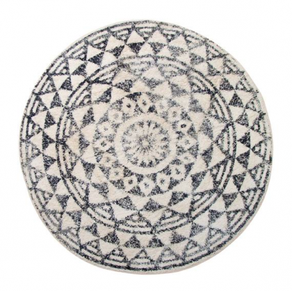 Round mat made of cotton. HK Living