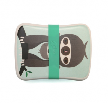Bamboo lunchbox green