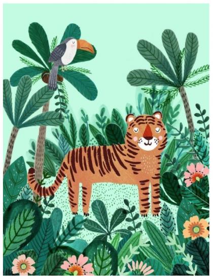 Poster Tigre 50×70