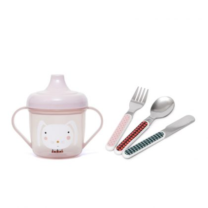 Baby Set Tableware Pink