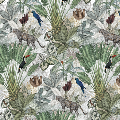 Jungle Wallpaper by Jimmy Cricket