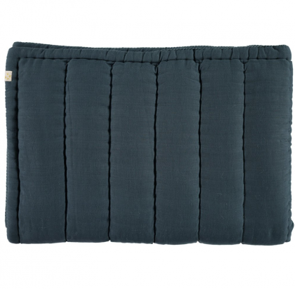 MIDNIGHT BLUE QUILT CAMOMILE LONDON