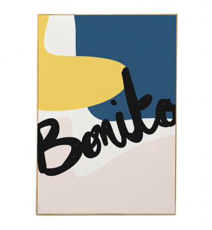 Poster Mathilde Cabanas Bonito