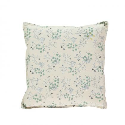 Minako Cornflower cushion Camomile London