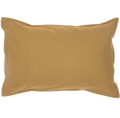 Organic Pillowcase Ochre Camomile London 60×40