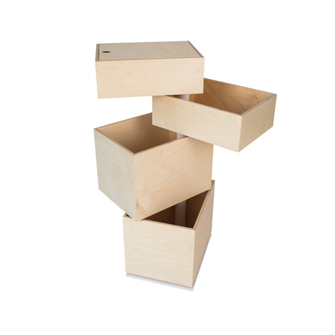 TOY CAROUSEL 4 BOXES