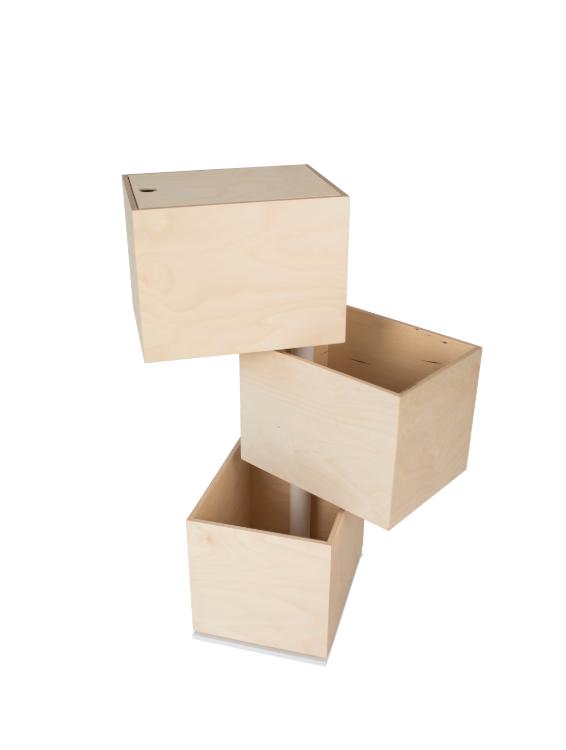 TOY CAROUSEL 3 BOXES