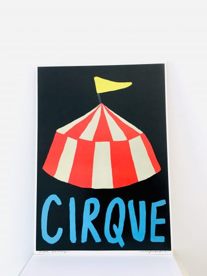 Cirque Print by Wolf Noodle A3