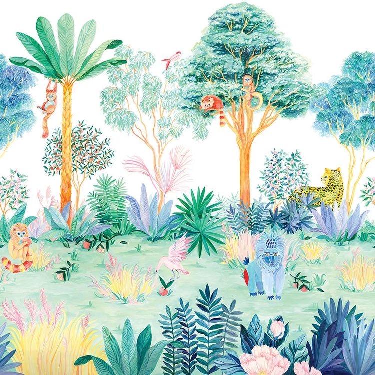 Jungle Wallpaper Sian Zeng