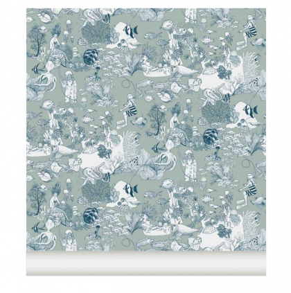 Wallpaper SEA CLOTHES by LITTLE CABARI