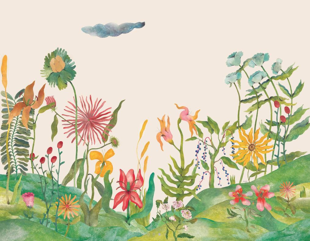 Audrey Wallpaper by Bien Fait