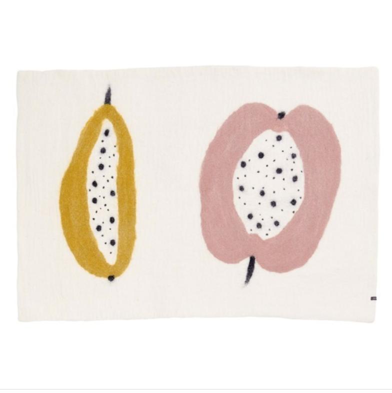 Alfombra Frutti Polen – Rosa
