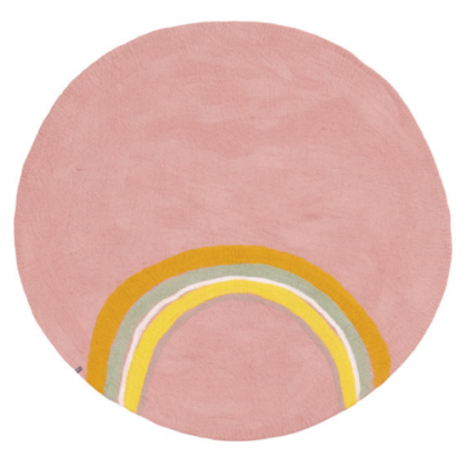 Rainbow Rug Pink