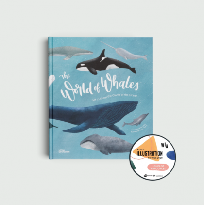 The World of Whales Book