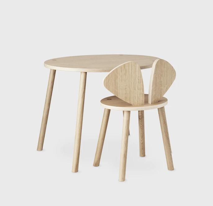 Set Mesa + silla Ratón de NOFRED 6-10 años