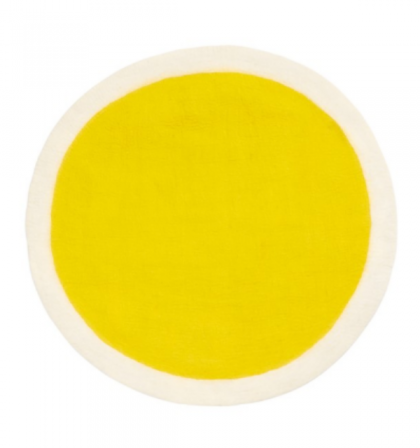Muskhane Yellow Rug