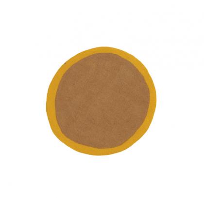 Lumbini Rug Pollen-Brow by Muskhane